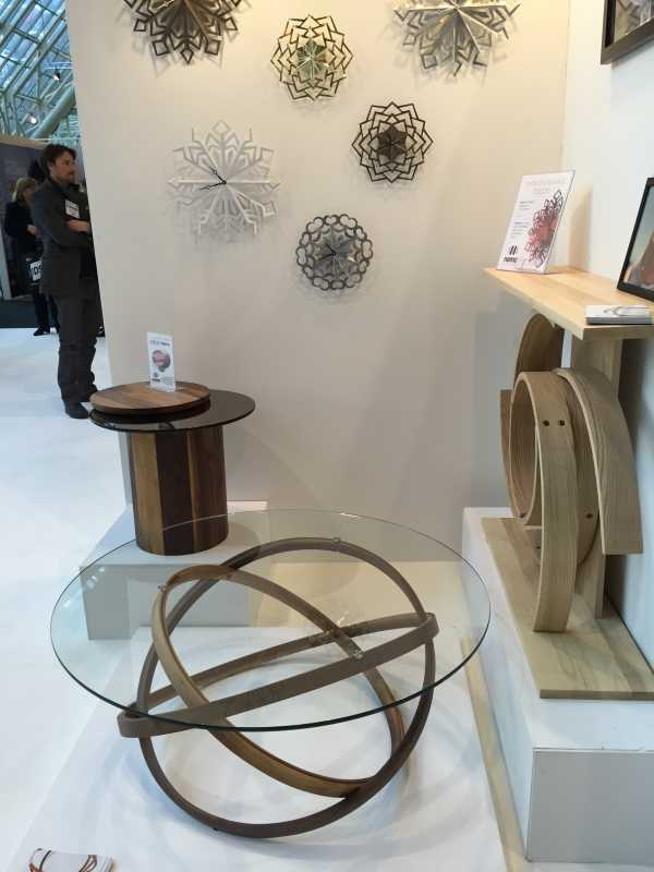 my favourite area of the show is the new and emerging designer booths